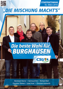 Kandidatenplakate A2