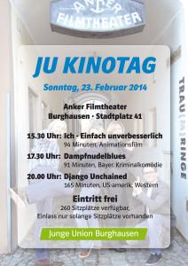 JU Kinotag Flyer 2