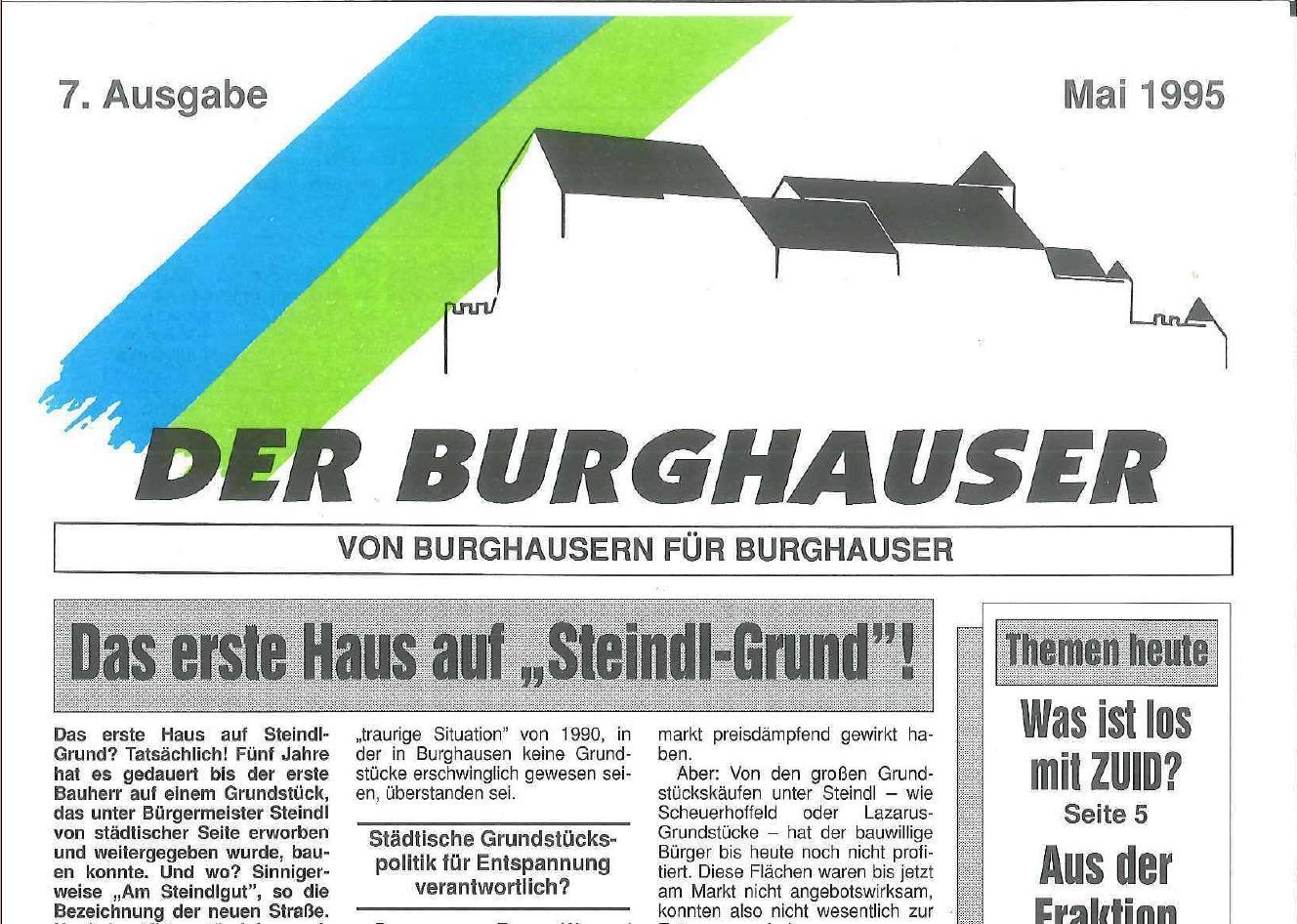 Der Burghauser_199505_titel